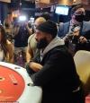 Matt James parties at Virgin Hotel in Las Vegas... after wiping all evidence
