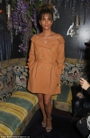 Halle Berry sizzles in cheeky trench-style mini as she flaunts