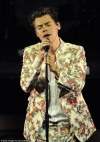 Quirky Harry Styles rocks his statement style in a vintage inspired