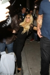 Bleary-eyed Jessica Simpson struggles to WALK as she appears slack-jawed with her