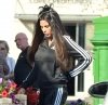 Katie Price shows off total image overhaul as she dyes her blonde tresses dark brown