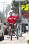 Selena Gomez and Justin Bieber are caught on low-key stroll...