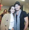 Ian Somerhalder and Nikki Reed cuddle up at Kiss The Ground book