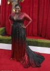 Danielle Brooks of OINTB fame sparkles in black and red Marc Bouwer