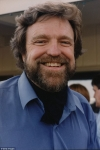 Grateful Dead lyricist John Perry Barlow who wrote the songs Black Throated Wind