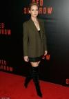 Leggy lady! Jennifer Lawrence flashes her slim pins