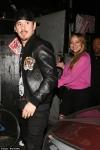 Mariah Carey models hot pink off-the-shoulder top for romantic