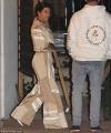 Kourtney Kardashian looks retro chic in bell-bottom Adidas