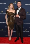 Kate Upton stuns in off-the-shoulder gown at Breitling Global Roadshow event in NYC
