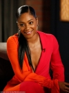 Tiffany Haddish dons plunging gold jumpsuit in her first 2018 MTV Movie