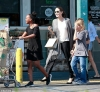 Angelina Jolie beams as she takes big brood to LA grocery store...