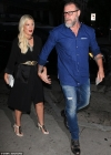 Tori Spelling dresses to the nines during West Hollywood date night