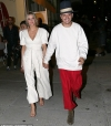 Ashlee Simpson and Evan Ross step out in coordinating outfits while