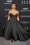 Laverne Cox suffers unfortunate wardrobe malfunction as she spills out
