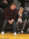 James Corden and son Max show their sweet bond as they lark around