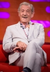 Sir Ian McKellen reveals he and Judi Dench SAT on the Queen's throne