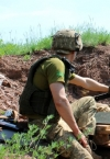 Russian-led forces violate ceasefire five times in Donbas