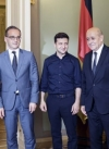 French, German ministers make statement after meeting with Zelensky