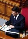 Zelensky tables in parliament bill on lustration of top-ranking officials