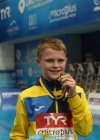 13-year-old Ukrainian wins gold at European Diving Championships