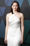 Felicity Jones and Saoirse Ronan look angelic as they both stun in white