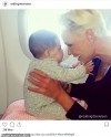Brigitte Nielsen, 55, shares sweet snap of her four-month-old daughter Frida