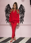 Love Island's Zara McDermott commands attention in bright red blazer