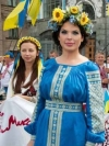 Ukrainians celebrate day of national embroidered shirt