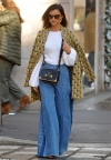 Lucy Mecklenburgh shows off her sartorial FLARE in bell-bottom