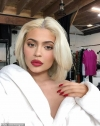 Kylie Jenner glams up for mystery shoot... and reveals she's planning