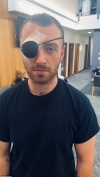 Sam Smith is 'scared' ahead of eye surgery to deal with painful-looking stye...