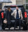 Priyanka Chopra, 36, and husband Nick Jonas, 26, arrive at their hotel