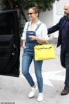 Jennifer Lopez looks good in denim on lunch outing in Miami